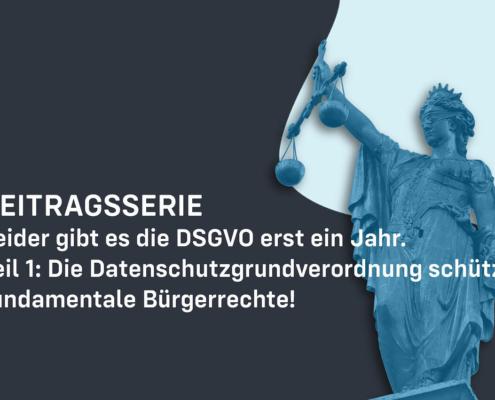 Data protection DSGVO