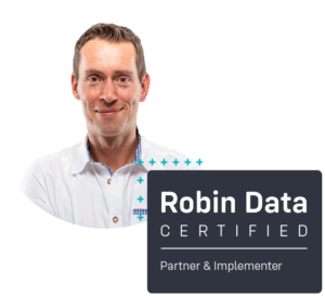 Stefan Schumann ist certified Robin Data Partner & Implementer