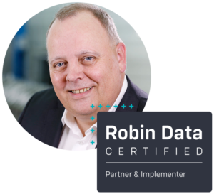 Frank Lünsmann ist certified Robin Data Partner & Implementer