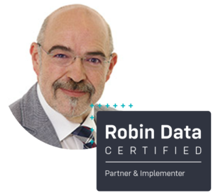 Wolfgang Glasbrenner ist certified Robin Data Partner & Implementer