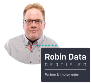 Wolfgang Evers ist certified Robin Data Partner & Implementer