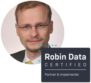 York Hoffmann ist certified Robin Data Partner & Implementer