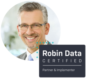 Lars Ebertz ist certified Robin Data Partner & Implementer