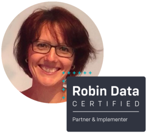Regina Stoiber ist certified Robin Data Partner & Implementer